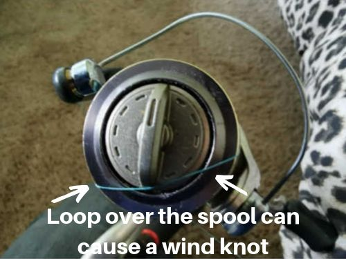 how to stop wind knots