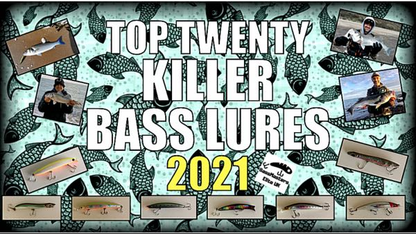 OUR AMAZING TOP TWENTY KILLER BASS LURES 2021 THAT WORK